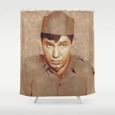 Jerry Lewis Hollywood Legend Shower Curtain