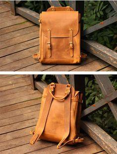 laptop backpacks for travel Backpack Brands, Travel Backpack, Travel Bags, Leather Laptop Backpack, Laptop Rucksack, Leather Backpacks, Leather Gifts, Leather Men, Handmade Leather