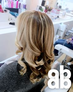 blow dry/out hair styling by the oneblowdrybar in #redbank #nj #blowdrybar #oneblowdrybar