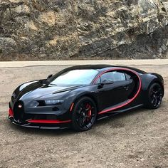 Outrageous is the only way to describe the Bugatti Veyron. The fastest production car in the world with a top speed of Bugatti Veyron, Bugatti Cars, Ferrari, Maserati, Sexy Cars, Hot Cars, Supercars, Auto Gif, Carros Lamborghini