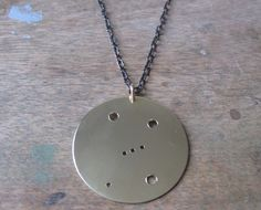 Orion Constellation Pendant Necklace by JulieNolanJewelry on Etsy, $45.00