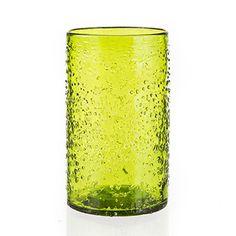 Arctic Cylinder Vase - Lime