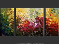 YOUNG ROSES - Flower Paintings, Roses, Impressionism