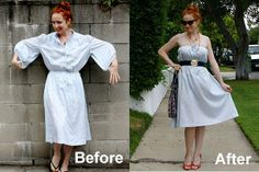 Looking to recreate designer summer stripes with a great find from your local ? Blogger  shows you how!