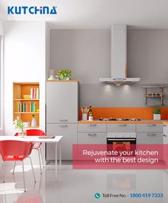 Your dream kitchen is a few steps away. Explore our range of modular kitchens and choose the best for yours: http://kutchinakitchen.com/product/ #Kutchina #ModernKitchen #KutchinaModularKitchen #DesignedForConvenience #HappyKitchen #HappyHome #KitchenLove
