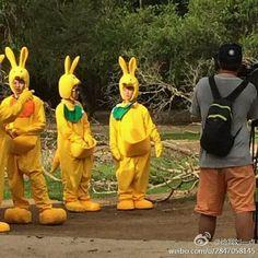 Woobin, Sukjin, and Gary   Running Man - Australia ...
