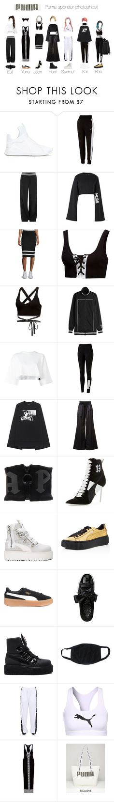 """""""Puma Photoshoot // Sponsor Event"""" by official-angel ❤ liked on Polyvore featuring Puma"""