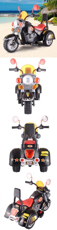 Ride On Toys and Accessories 145944: Kids Ride On Motorcycle 3 Wheel Harley Style 6V Battery Powered Electric Toy -> BUY IT NOW ONLY: $69.59 on eBay!