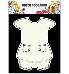 470.713.629 Dutch Doobadoo Card Art Dress