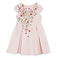 Baker by Ted Baker Girls' light pink floral print dress Cute Bows, Toddler Outfits, Pleated Skirt, Ted Baker, Floral Prints, Summer Dresses, Pretty, Pink, How To Wear