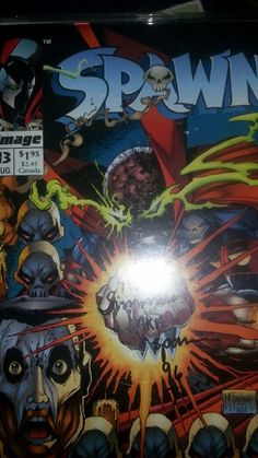 Al Simmons signed Spawn
