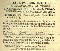 Tónica para prolongar la vida. Calendario curioso para el año de 1879 : arreglado al meridiano de México. (R)/529.4 CAL.cu.879. Colección de Calendarios Mexicanos del Siglo XIX. Fondo Antiguo. Biblioteca del Instituto Mora, México. Tonic to prolong life. Curious calendar for the year 1879: arranged to the meridian of Mexico. (R) /529.4 CAL.cu.879. Collection of Mexican Calendars of the 19th Century. Old Background. Library of the Mora Institute, Mexico.