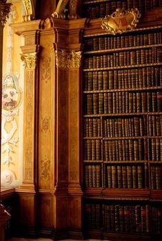 Library, Melk Abbey, Austria