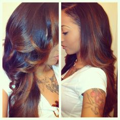 Experience the Brazilian Straight texture from www.TressenceVirginHair.com