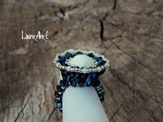 Baroque ring (superduo/twin beads) - Youtube