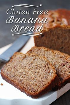 we arrived at a gluten free flour mix recipe that made awesome gluten free banana bread. AND and awesome gluten free banana bread recipe. Gluten Free Banana Bread, Banana Bread Recipes, Gluten Free Baking, Vegan Baking, Vegan Gluten Free, Vegan Egg, Gluten Free Breakfasts, Gluten Free Desserts, Vegan Desserts