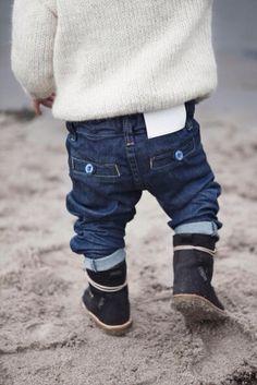 Pantalones para niños I dig denim