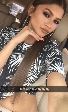 New photos posted on Zendaya's snapchat! (6/11/2015)