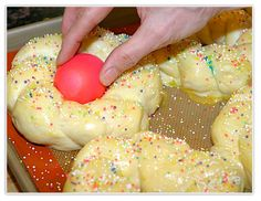 easter cookies | ... recent Easter Bread post. Its made with golden eggs and pearl sugar