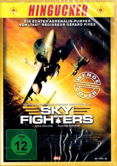 DVD - SKY FIGHTERS - Wende Cover ohne FSK Logo