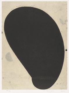 Martin Puryear (b. 1941)  Profile, 2002.  Softground etching with drypoint on chine collé.
