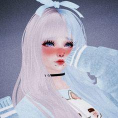 Anime Girl Cute, Kawaii Anime Girl, Virtual Girl, Black Art Pictures, Grunge, Teenage Girl Outfits, Aesthetic Gif, Slayer Anime, Anime Scenery