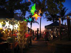 Midil Beach Night Market, Darwin, Australia