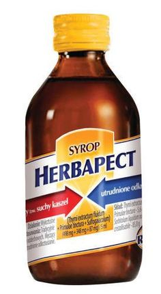 HERBAPECT syrup 150g 6 years  asthma treatment
