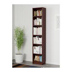 BILLY Bookcase - medium brown - IKEA