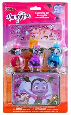 Vampirina Non-Toxic Peelable Nail Polish Cosmetic Set with Stickers Art and Storage Case ** More info could be found at the image url. (This is an affiliate link) Baby Dolls For Kids, Toys For Girls, Beautiful Nail Designs, Beautiful Nail Art, Disney Junior, Disney Jr, Disney Princess Toys, Nintendo Switch Accessories, Learn Arabic Alphabet
