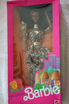 "Mattel ""Nigerian Barbie"" Dolls of the World Collection #7376"