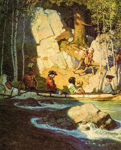 Captives Print By N C Wyeth