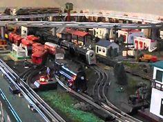 Marx Trains - nothing but tin.