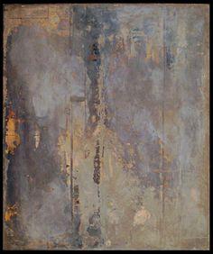 Tanya Bonello, Homage series, Smoke, 600x500mm, gypsum and oil on board, 2002