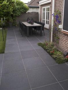 Outdoor Paving, Garden Paving, Outdoor Tiles, Outdoor Landscaping, Lanai Patio, Backyard Patio, Backyard Ideas, Garden Ideas, Patio Tiles