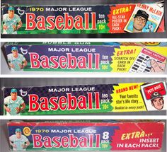 A fun and insightful look back at the 1970 Topps baseball card set. Baseball Card Store, Baseball Card Boxes, Baseball Cards For Sale, Hockey Cards, Basketball Cards, Football Cards, Baseball Stuff, Mets Team, Old Advertisements