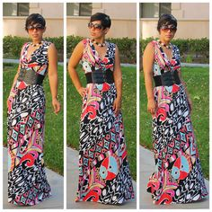 DIY Maxi Dress + Pattern Review M6700 |Fashion, Lifestyle, and DIY