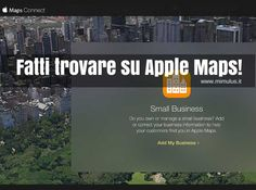 Mappe di Apple: come aggiungere un'attività commerciale