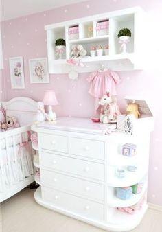Decorando o quarto de bebê da sua menina