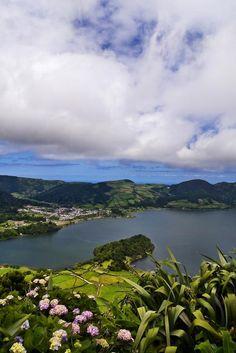 Portugal - Açores - S. Miguel - Lagoa das Sete Cidades.