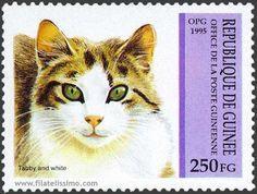 Sello de correos - República de Guinea, 1995