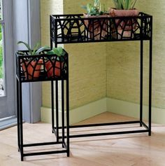 Set of 3 Foliage Plant Stands