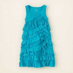 girl - dresses & rompers - ruffle lace dress | Children's Clothing | Kids Clothes | The Children's Place