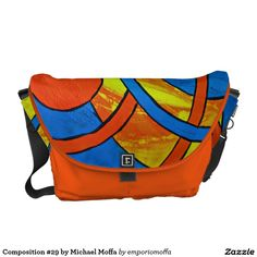 Composition #29 by Michael Moffa Courier Bags