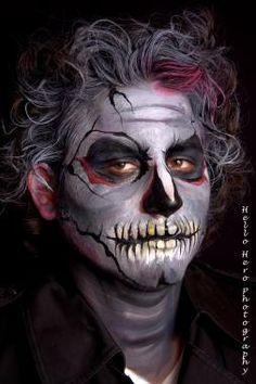 Facepainting makeup by Sandra E. Artist