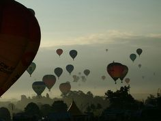 The annual Bristol Balloon Fiesta! Incredible views across the city. If you'd like to live in affordable but stylish apartments in vibrant Bristol, check out Lakeshore: http://on.fb.me/HQnuik
