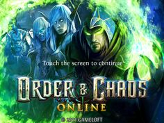 Order and Chaos totally check it out.