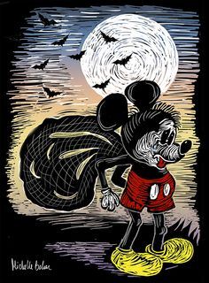 Mickey Mouse by Michelle Behar