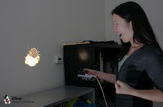 HideOut smart video projection system, from Disney Research