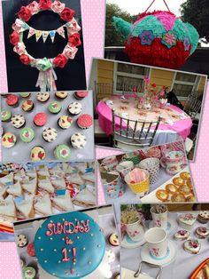 Cath Kidston theme party